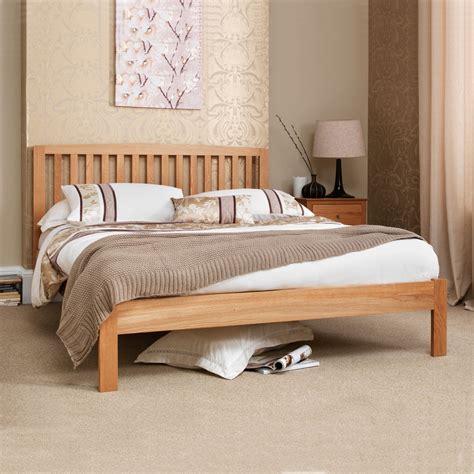 5ft king size bed bed frames uk thornton oak 5ft king size bed frame