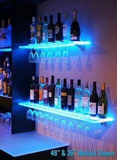 Bar Glass Storage Ideas 1000 Ideas About Floating Glass Shelves On