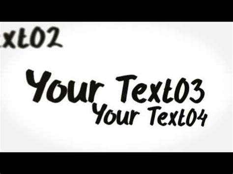Whiteboard Logo After Effects Template Youtube Whiteboard After Effects Template