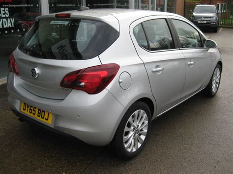 vauxhall silver used sovereign silver metallic vauxhall corsa for sale