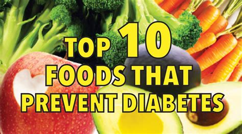 10 Ways To Prevent Diabetes by Top 10 Foods That Prevent Diabetes