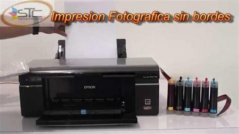 reset epson t50 gratis impresora epson stylus foto t50 con sistema de tinta