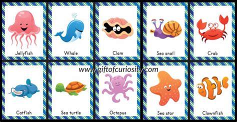 printable ocean games ocean animal bingo free ocean printables gift of curiosity