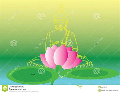 a lotus for you a buddha to be lotus and buddha stock photo image 30013710