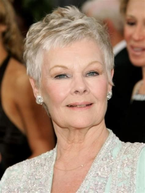 how to cut judi dench bangs bing short hair cuts for women hair it s a process