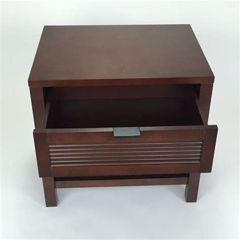 81 off crate and barrel crate and barrel nightstand
