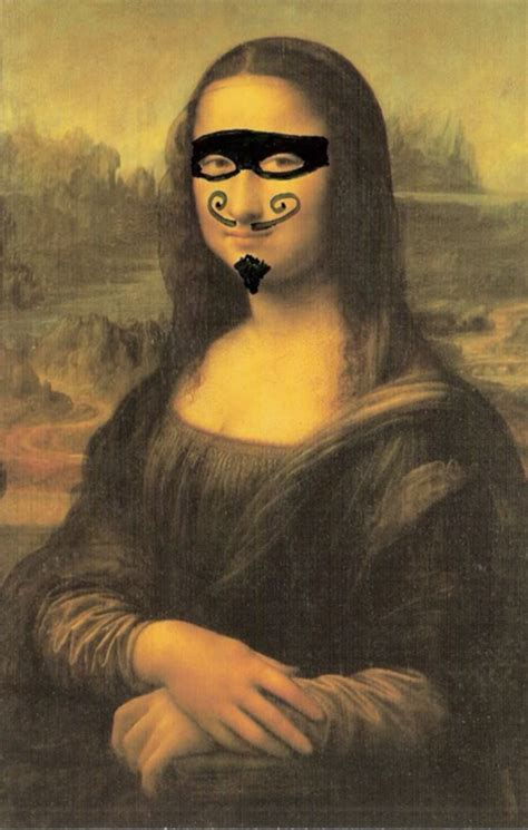 Gamis Ontel White Monalisa moustached mona again mona your meme