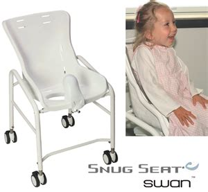 Swan Shower Chair by Snug Seat Bath Chair Potty Chairs With Trays Adaptive