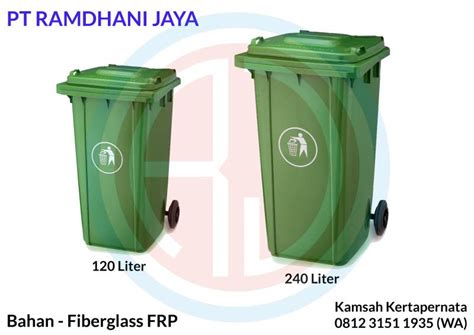 Murah Bak Cat Hijau Tebal tong sah fiber 240 liter harga pabrikan diskon bergaransi