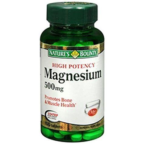 Magnesium Stool by High Potency Magnesium 500 Mg 100 Tabs 250mg To 500mg