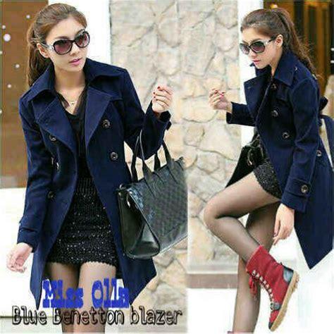 Coat Outer Blazer Jaket Jacket Baju Wanita Korea Import Winter buy blazer coat jaket wanita ala korea trendy modis