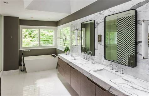 Modern Bathroom Countertops by 18 Marble Countertop Designs Ideas Design Trends