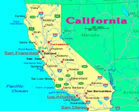 printable map of california cities map of california