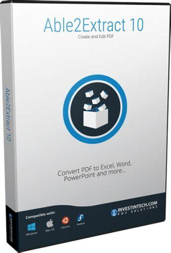 Software Converter Able2extract Professional 10 able2extract pdf converter 10 0 9 0 software updates