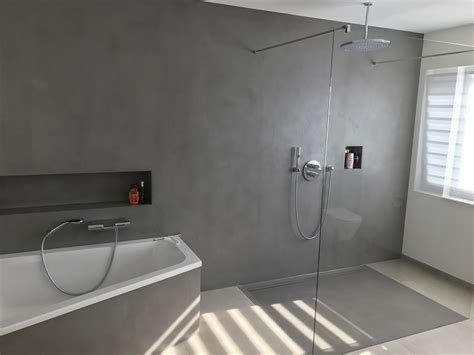 fugenloses bad fugenloses bad dusche realisiert mit carameo beton cir 233