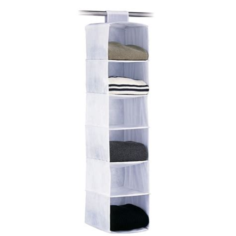 6 Shelf Closet Organizer by Standard 6 Shelf Sweater Organizer Closet Organizer