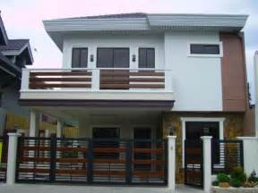 2 Stories House Design 2 Storey House With Balcony Images 2 Story Modern House Designs 1 Storey House