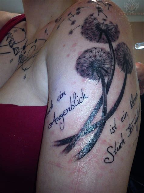 shoulder to chest tattoos best dandelion tattoos on chest and shoulder