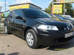 2007 Renault Megane 2007 Renault Megane Pictures 1600cc For Sale