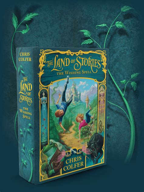a corner in land books the series the land of stories by chris colfer