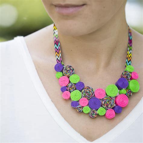 how to make duct jewelry duck diy necklace allfreekidscrafts