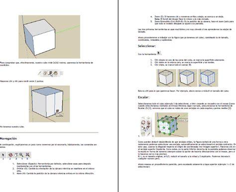 tutorial google sketchup pdf tutorial sketchup 1 en monograf 237 as gu 237 as y estudios