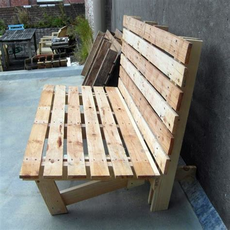 bench made out of pallets bench made out of pallets outdoors pinterest