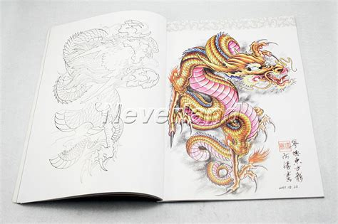 oriental tattoo art book china oriental dragons tattoo flash book art magazine