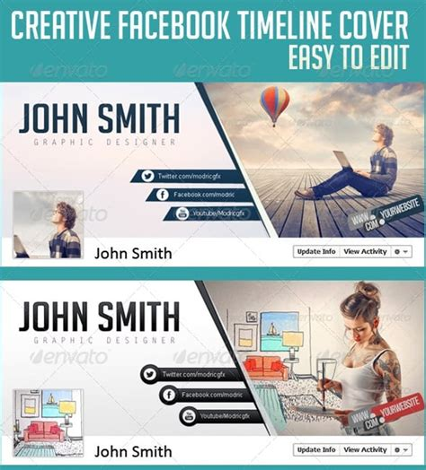 free timeline cover templates premium and free timeline cover templates