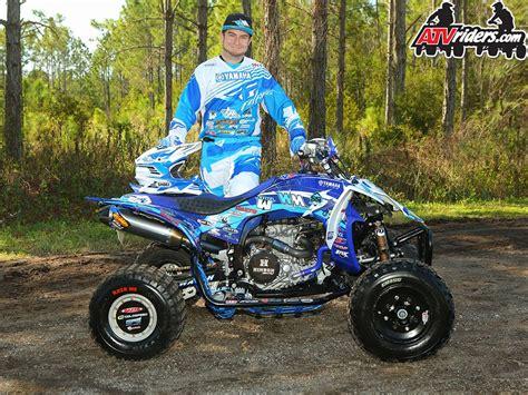 pro motocross racers brown pro atv motocross racer