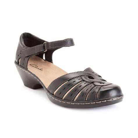 clarks womens shoes wendy river sandals in black lyst