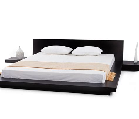 Zen Platform Bed Fujian Modern Platform Bed My Zen Decor