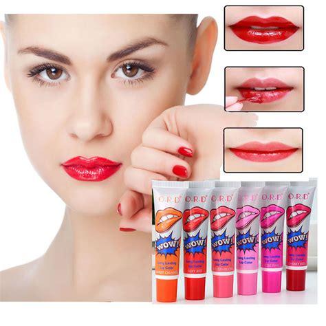 lip gloss tattoo 6 colors makeup lipstick liquid lip gloss tint