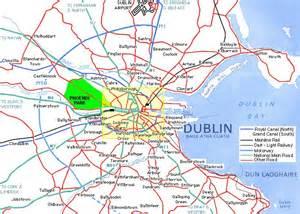 dublin map map of dublin dublin maps mapsof net