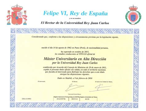 Mba Oficial by T 237 Tulo Oficial Eobs European Open Business School