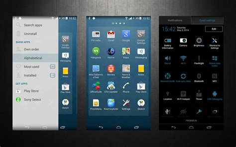 themes download xperia install xperia theme upsky xperia colormix theme