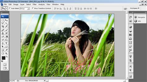kumpulan tutorial fotografi cara membuat efek ir infrared dengan adobe photoshop