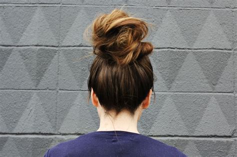 How To Get Knots Out Of Hair That Is Matted by How To Style A Top Knot A Beautiful Mess