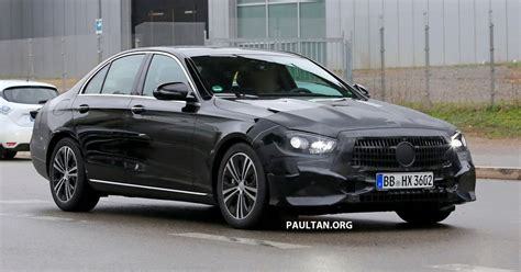 Mercedes E Class Facelift 2019 spied w213 mercedes e class sedan facelift