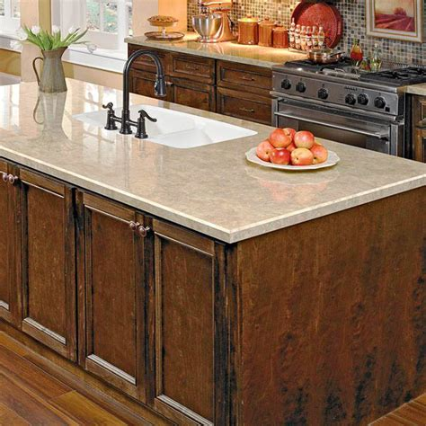 Kitchen Granite Countertops Cost Four Ways To Get The Look Of Granite Countertops Better Homes And Gardens Bhg
