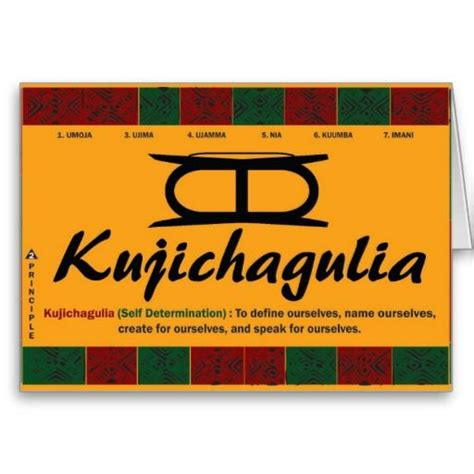 the second day of kwanzaa is kujichagulia self