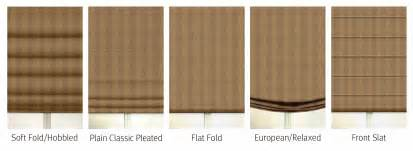 Cordless Window Blinds Deluxe Roman Shades