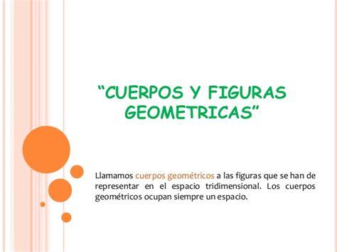 figuras geometricas definicion cuerpos y figuras geometricas