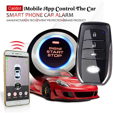 Alarm Mobil cardot top quality smart car alarm pke car alarm alarm car car alarm installation brand product