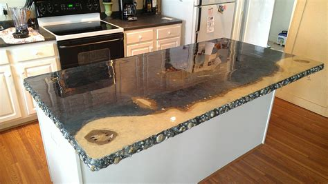 Do It Yourself Kitchen Countertops The Benefit Of Concrete Kitchen Countertops