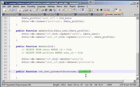tutorial codeigniter session codeigniter login session youtube
