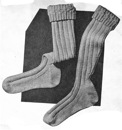 army pattern socks vintage knitted world war 2 knitting patterns available