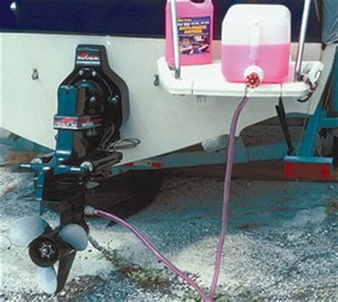 winterizing boat bilge disconnect raw water hose from engine or seacock to winterize