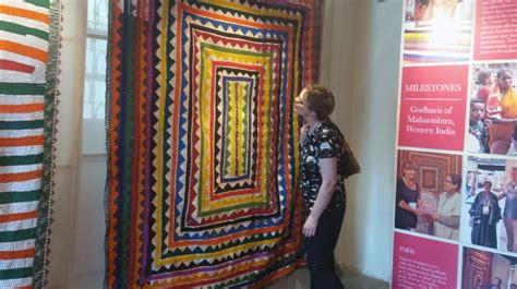 Quilting Museum by Quilt Museum Expands International Ties To India
