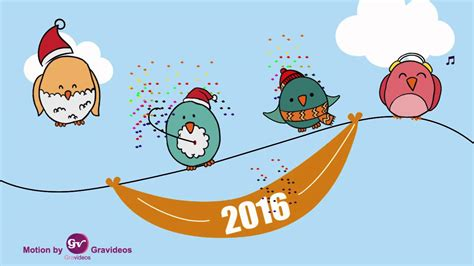 template after effects new year free after effects new year with birds template youtube